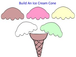 Build an ice cream cone for storybook week