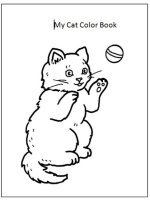 My Cat Color Book – Print Out