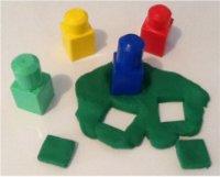 Play Dough Squares