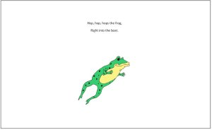 Ribbit says the frog page 3