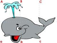 Whale ABC Puzzle
