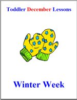 Toddler Lesson Plans – Week 2 – Winter Theme