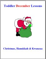 Toddler Lesson Plans – Week 3 – Christmas, Hanukkah & Kwanzaa Theme