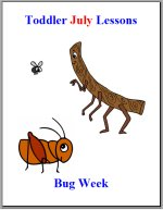 Toddler Lesson Plans – Week 2 – Bug Theme