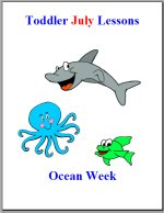 Toddler Lesson Plans – Week 3 – Ocean Theme