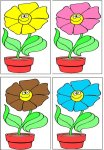Match The Flowers By Color Game