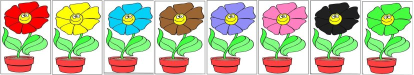 Large Motor Activity For Preschool Flower Theme