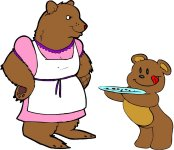 Mama Bear & Baby Bear Math Activity