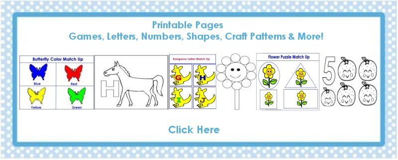 Toddler May curriculum includes  printable pages such as coloring pages, crafts, lesson plans, posters, calendars and craft patterns.