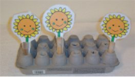 Preschool Math Activity, Sunflower Garden