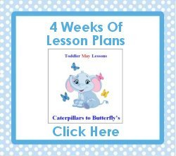 Toddler May curriculum includes 4 weeks of lesson plans