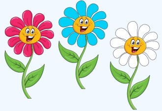 Preschool Activity - Who Took A Blue Flower