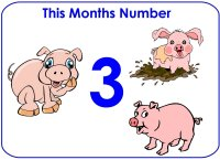 Toddler Number Display – Number 2, Number One