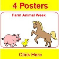 Toddler November curriculum includes 4 themed posters