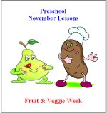 Preschool Curriculum Fruit & Veggie Week Theme Free sample