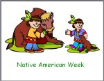 Preschool November Lesson Plans for Native American Theme