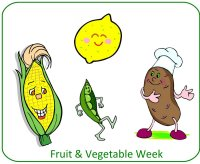 preschool november poster for fruit vegetable unit