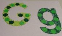 Letter G Craft