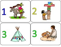 Native American Numbers Activity – Indian Activity