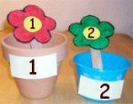 Flower Number Match Up