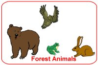 March Lesson Plans – Week 1 – Forest Animals Theme for toddlers ages 18 months – 2.5 years