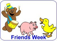 September Lesson Plans – Week 1 – Friends Theme for toddlers ages 18 months – 2.5 years