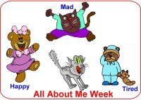Toddler September Week 2 Poster nursey rhymes week theme