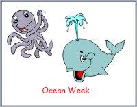 Preschool Ocean Theme Poster
