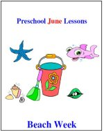 Preschool Beach lesson plans