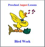 Preschool Bird Theme Lesson Plans