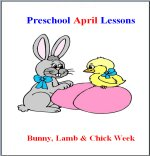 April Preschool ages 2.5 to 6 years, click here to view!