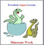 August Preschool ages 2.5 to 6 years, click here to view!