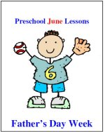 Preschool Father's Day lesson plans
