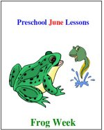 June Preschool ages 2.5 to 6 years, click here to view!