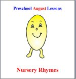 Preschool Nursery Rhymes Theme Lesson Plans