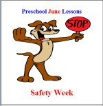 Preschool Curriculum Safety Week Free Sample