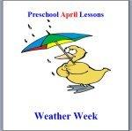 Preschool Weather Lesson Plans