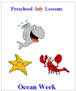 Preschool July Ocean Lesson Plans.
