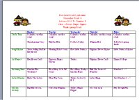 November Preschool Curriculum Fruit Vegetable Theme - Preschool weekly lesson plan template