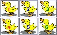 Six Baby Ducks Rhyme