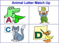 Animal Letter Match Up