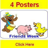 Toddler September curriculum includes 4 themed posters