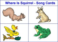 Where is squirrel song cards