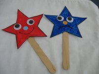Preschool Star Craft Puppets