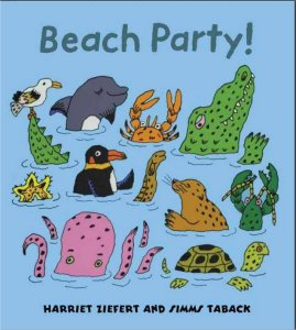 Beach Party Book by Harriet Ziefert