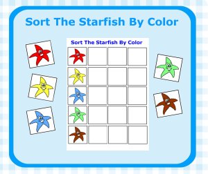 starfish coloring pages preschool numbers - photo#33