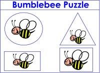 Bubblebee Shape Puzzle