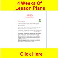 Toddler August curriculum includes 4 weeks of lesson plans