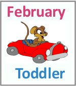 February Toddler ages 2.5 to 6 years