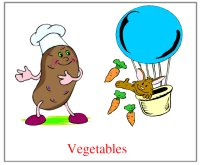 Vegetable Teaching Picture For Younger Toddler Fall Theme Lesson Plans